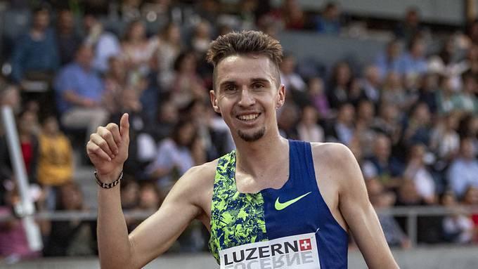Starke Leistung in Hengelo: Julien Wanders