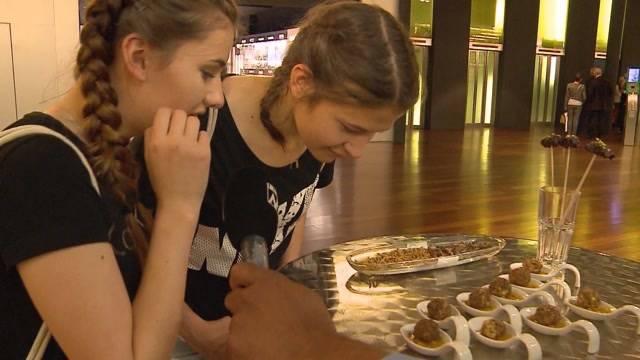 Würmer und Maden bald kulinarische Hochflieger?