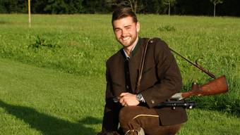 David Meier (26) aus Windisch ist Berufsjäger im deutschen Bundesland Mecklenburg-Vorpommern, genauer in Buggenhagen.