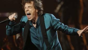 Soll das Weisse Haus rocken: Altmeister Mick Jagger (Archiv)