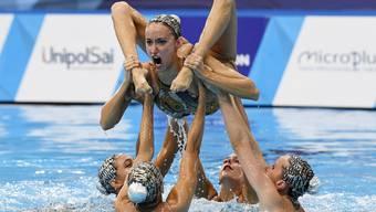 Tanzen im Wasser: Synchronschwimmen/Keystone