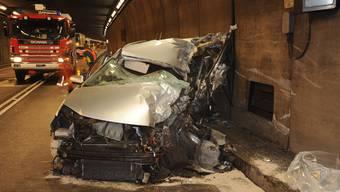 Autofahrer bei Frontal-Kollision im Gotthard-Strassentunnel getötet