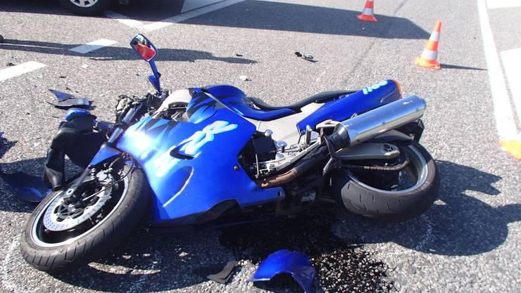 Motorrad-Unfall in Kölliken