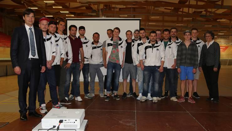 Die Stadt Grenchen hat am Freitagabend ihre erfolgreichen Sportler im Velodrome geehrt