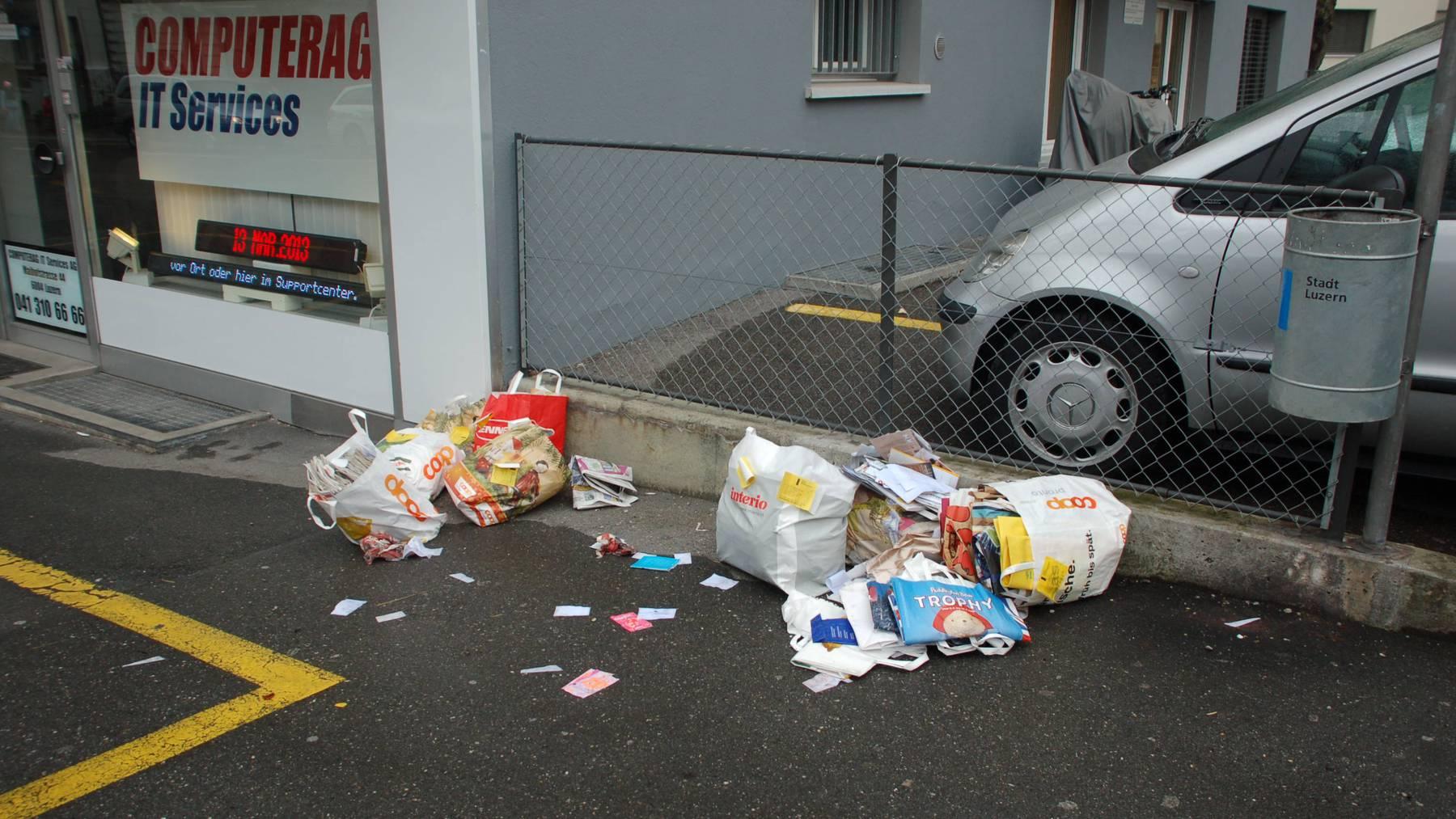 Bund plant happige Bussen für Abfallsünder