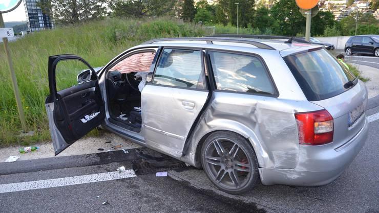 In Füllinsdorf verlor ein Fahrer die Kontrolle über seinen Wagen.