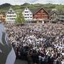 Jedes Jahr am letzten Sonntag im April: die Landsgemeinde in Appenzell.