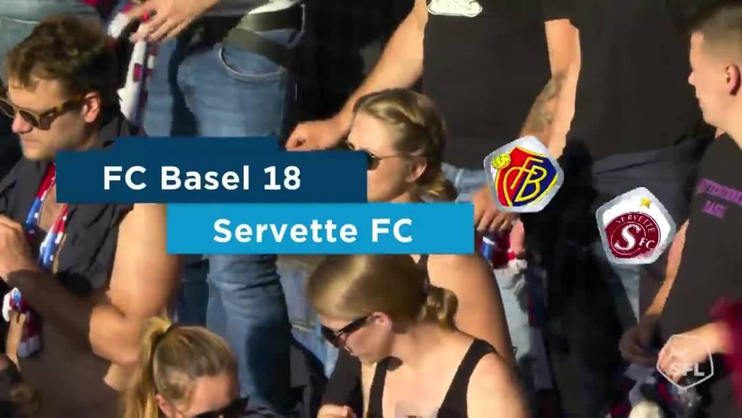 Super League, 2019/20, 4. Runde, FC Basel - Servette FC: Highlights
