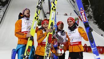 Gold für Deutschland im Mixed-Team-Wettkampf