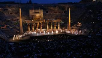 """""""Aida""""-Aufführung in der Arena von Verona. (Archivbild)"""