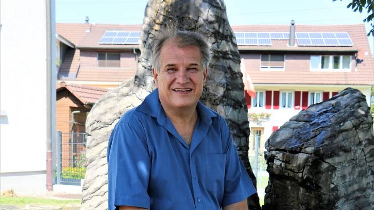 Gemeinderat Stefan Grunder ist in der Gemeinde Eiken fest verwurzelt.
