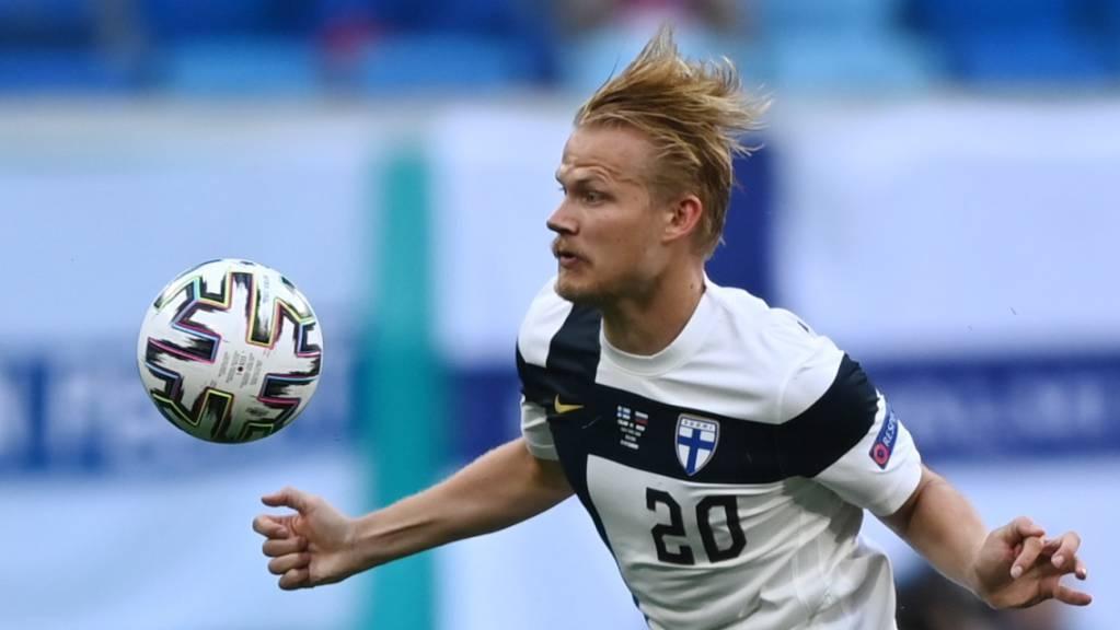Joel Pohjanpalo zeigte seine Gefährlichkeit auch im Match gegen Russland