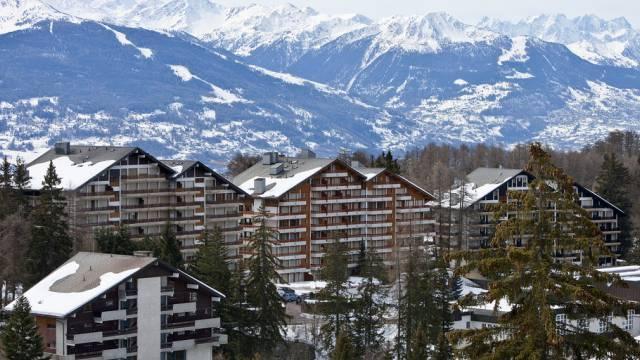 Ferienwohnungen in Crans-Montana im Wallis (Archiv)