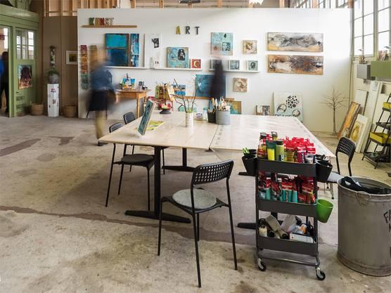 Ein charismatisches Atelier für kreatives und inspiriertes Arbeiten.