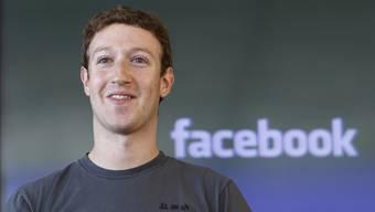 Äusserte sich erstmals seit dem Daten-Skandal in den Medien: Facebook-CEO Mark Zuckerberg. (Archivbild)