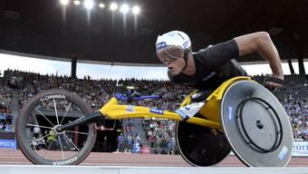 Rollstuhl-Leichtathlet Marcel Hug ist Behinderten-Sportler des Jahres.