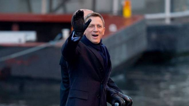 Dreharbeiten zum neuen James Bond Film in London. Foto: Keystone