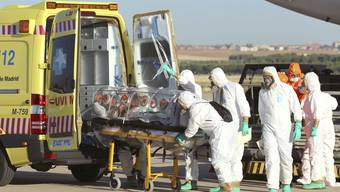 Ebola-Kranker in Spanien gelandet
