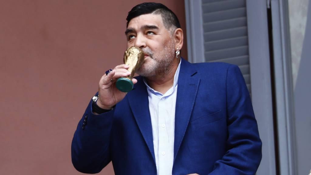 Operation für Maradona wegen Hirnblutung