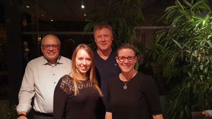 oben links: Wolfgang Reisner oben rechts: Christian Burger unten links: Michelle Wettstein unten rechts: Vanessa Kleeb