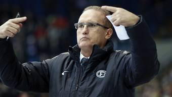 Trainer Larry Huras könnte Fribourg-Gottéron schon bald wieder verlassen.