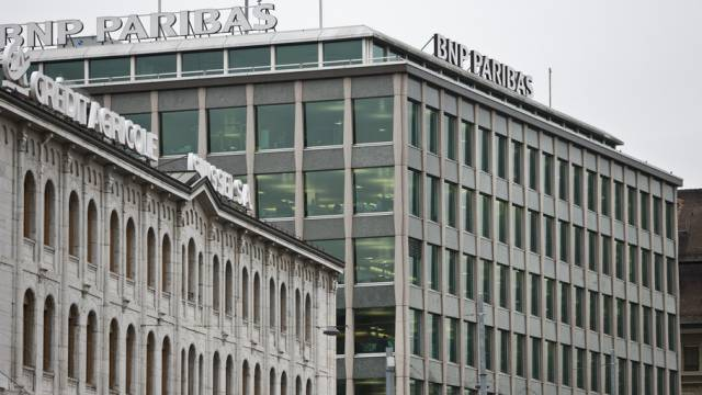 Das Bankenviertel in Genf (Symbolbidl)