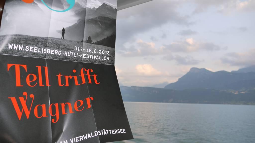 """Ferientipp: Freilichttheater """"Tell trifft Wagner"""" auf dem Seelisberg"""