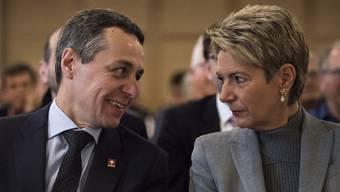 Ignazio Cassis hat seiner Parteikollegin Karin Keller-Sutter die Übernahme des Wirtschaftsdepartements verunmöglicht.