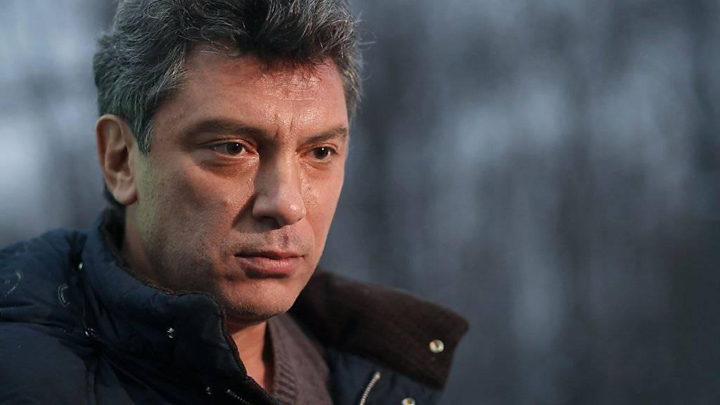 Archivaufnahme von Boris Nemzow aus dem Jahr 2011