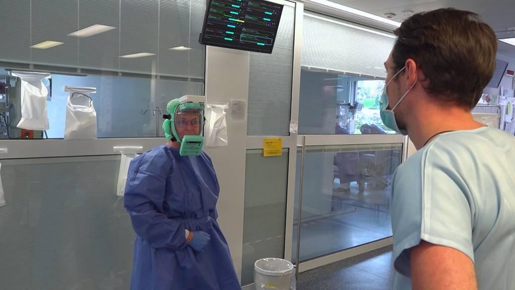 Die Corona-Welle brachte Zwölf-Stunden-Tage ins Spital Schwyz