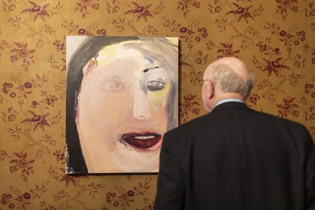 Vernissage der Einzelausstellung von Margot Bergman, im Museum Langmatt Baden am 2. März 2019.