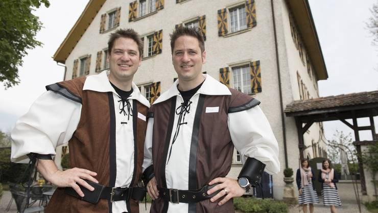 Philipp Emmenegger, Döttingen, und David Emmenegger, Gippingen, präsidieren den Zwillingsverein Aargau.
