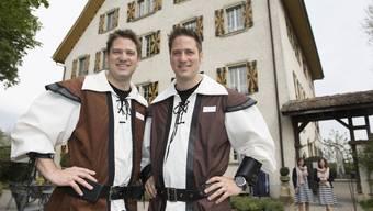 Zum Verwechseln ähnlich: Die Geschwisterpaare an der 39. Generalversammlung des Zwillingsvereins Aargau.