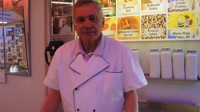 Interview mit dem alten Gelateria-Besitzer Silvio Fant