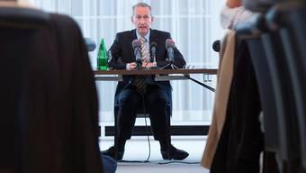 Michael Ambühls Geschäft ist das Verhandeln, auch als Dozent an der ETH. Marcel Bieri/Keystone