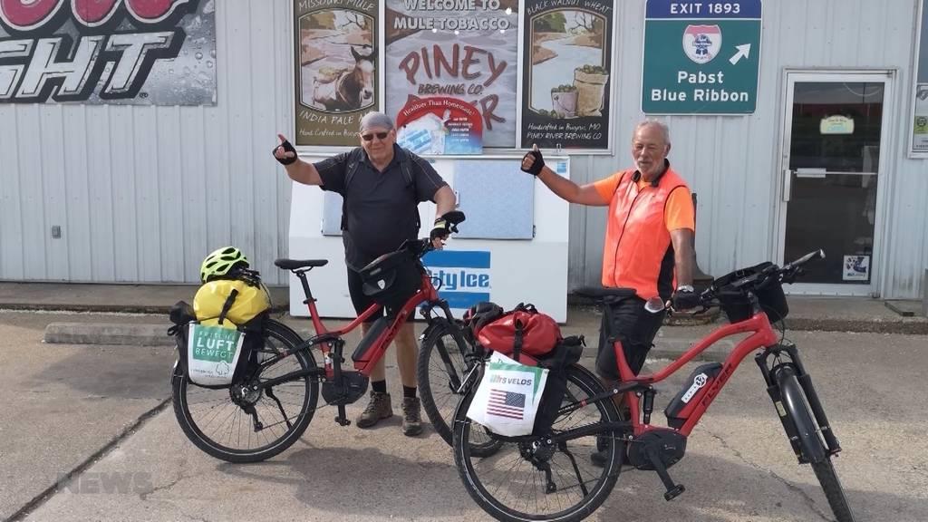 Route 66 mit dem E-Bike: Roli Grädel erfüllt sich einen Lebenstraum