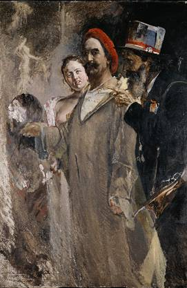 Maler Frank Buchser(1828–1890) aus Feldbrunnen.