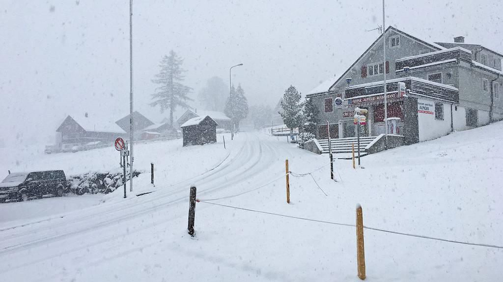 Es schneielet im FM1-Land