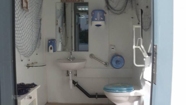 Die wohl schönste Tankstellen-Toilette von Bern