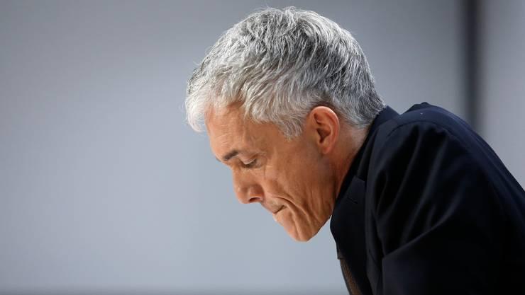 Bundesanwalt Michael Lauber fiel in Ungnade, weil er der FIFA angeblich zu nahe stand.