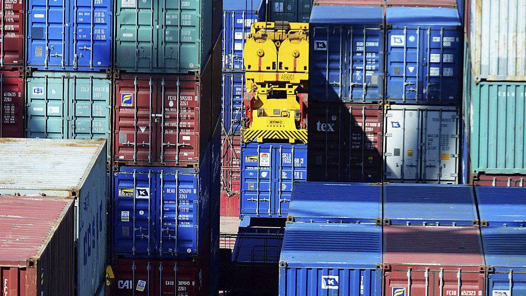 Die Experten der Credit Suisse rechnen mit einer Abschwächung des Exportwachstums im weiteren Jahresverlauf. (Symbolbild)