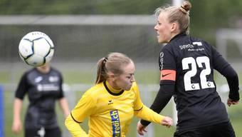 Captain Michelle Stierli, hier im Spiel gegen Küssnacht, soll auch gegen Schlieren die Verteidigung dirigieren.