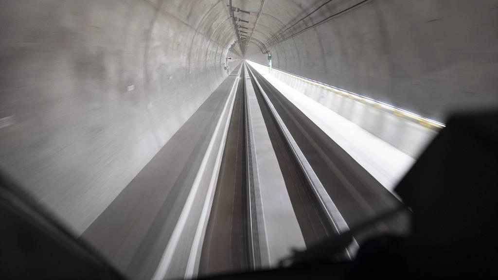 Der Ceneri-Tunnel wird im September eröffnet