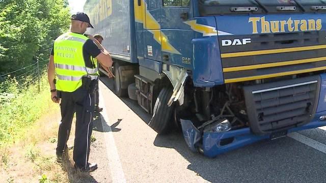 Schwerer LKW-Unfall bei Kölliken