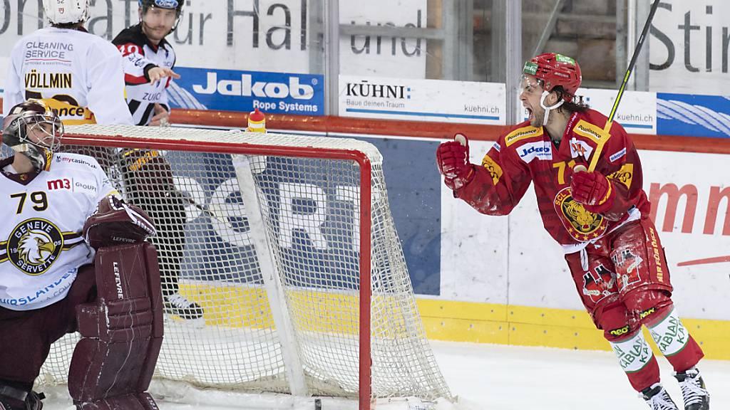 Nach Quarantäne: Langnau gewinnt gegen Servette 4:0