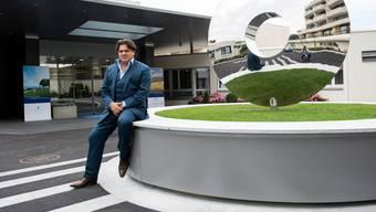 Antoine Huber, der Chef von Genolier – wozu als Spitalsparte auch die Privatklinikgruppe Swiss Mecial Network gehört. (Archivbild)