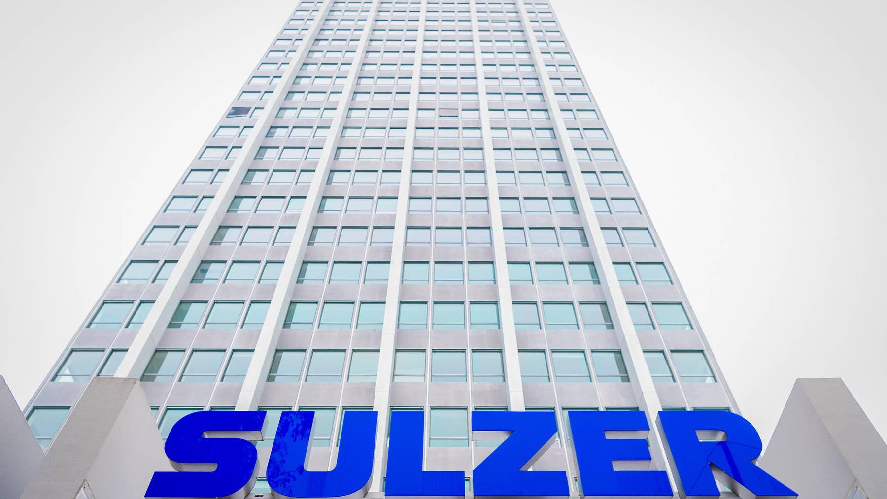 Das aktuelle Geschäftsumfeld von Sulzer sei infolge der Coronapandemie nach wie vor von «hoher Unsicherheit».