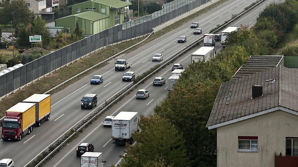 Die Nähe des Wohnorts zu einer Autobahn erhöht das Krebsrisiko für Kinder. (Archivbild)