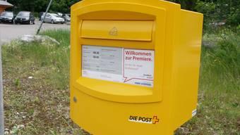 Briefkasten in Leibstadt wird aufgehoben