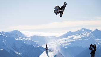 Sonne satt, Piste gut: Das Snowboard-Paradies Laax im Kanton Graubünden.